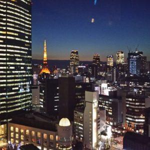 東京出張中です