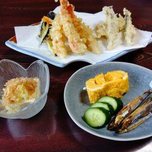 福寿司さんの天ぷら定食